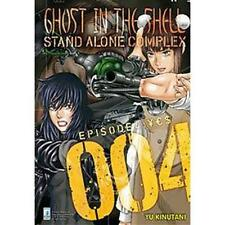 GHOST IN THE SHELL STAND ALONE COMPLEX - 004 - MANGA STAR COMICS - NUOVO