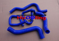 Blue silicone radiator heater hose kit for Ford Falcon BA BF XR6 Turbo
