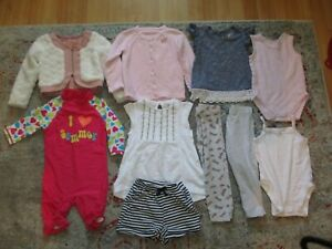 BABY GIRLS CLOTHES BUNDLE AGE 18-24  MONTHS