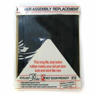 "LM Pride Pet Doors Rubber Assembly Replacement Pet Door Flap M (14.5"" Long x 10."