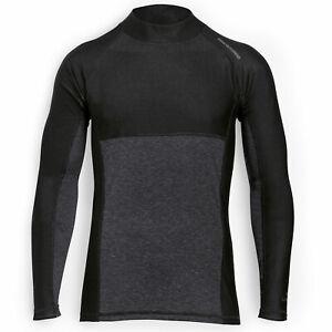 BMW Motorrad Function Thermo Under Shirt Base Layer Long Sleeve Mens Black /Grey