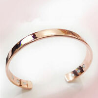 Magnetic Copper Bracelet Healing Therapy Arthritis Pain Relief Bangle Best