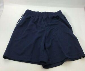 High Five Youth Medium Navy Blue Soccer Shorts NEW G-26