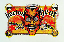 Reverend Horton Heat Blasters First Avenue Minneapolis 2003 Poster Squad 19