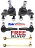 FOR VW TOURAN FRONT LOWER BALL JOINTS ANTI ROLL BAR LINK & 2 OUTER TRACK ROD END