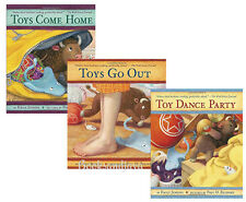 Toys Come Home, Toys Go Out, Toys Dance Party (hc) Emily Jenkins 3 books by NEW