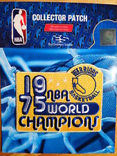 Licensed NBA Golden State Warriors 1975 Champions Fan Iron or Sew On Patch