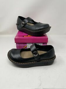 Mary Jane Nursing Shoe by Savvy, Women's, Color: Black Smooth
