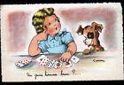 VOYANTE , TIREUSE de CARTE / ENFANT & CHIEN ... illustrée par GOUGEON