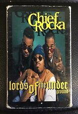 Chief Rocka Lords Of The Underground Cassette Single Pendulum Records Rap HipHop