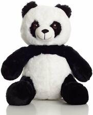 Panda Bear Cuddle Mates Stuffed Animal Plush Toy Soft 14 Inch Teddy Black White