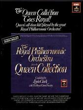 """1982 Royal Philharmonic Orch """"Queen Collection"""" Ad"""