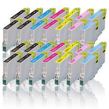 28 cartuchos compatibles para Epson Stylus Photo px700w px710w p50 px650 px700