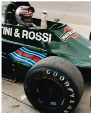 MARIO ANDRETTI  ORIGINAL F1 8 X 10 PHOTO TEAM LOTUS WATKINS GLEN GOODYEAR