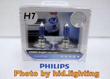 2013 Genuine Philips Crystal Vision CrystalVision H7 4300K headlight bulb 12362