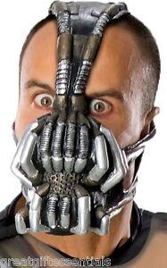 BANE ADULT GAS MASK BATMAN DARK KNIGHT RISES COSTUME ACCESSORY TOM HARDY LICENSE