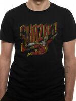 Captain Marvel Shazam T Shirt Official Distressed NEW S M L XL XXL