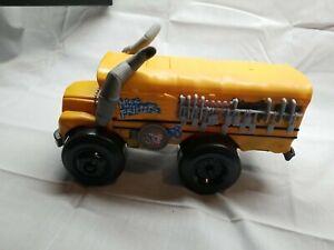 Disney Car 3 Splash Racers Miss Fritter School Bus Bath Vehicle 2016 Mattel Toy