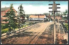 Navy Yard NOON HOUR Bremerton WA 1910 Divided Back Halftone by Mitchell UNUSED