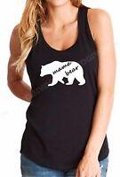 Tank Top Ladies Mama Bear #3 Shirt Mother's Day Gift Idea Funny Women Tee S-XXL