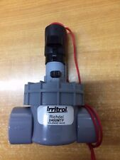 Qty 1: 25mm Irritrol Richdel 2400MTF Irrigation Solenoid Valve with Flow Control