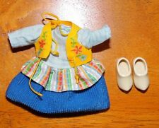 * Outfit~ Barbie Doll Kelly Friends Of The World Holland Cultural Dress Tights