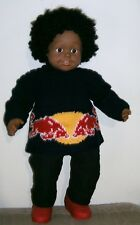 Mode bébé,brassière tricot jacquard sport .Tricot fait main création neuve
