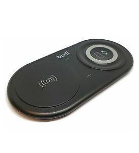 Budi 15W 2-in-1 Slimline Desktop Wireless Charger For Phone & Watch