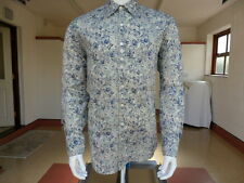 Paul Smith Beautiful Mainline New Mens Floral Print Shirt Size M Made In Italy