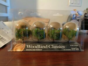 Woodland Classics TR3592 'Orange Trees' (4 Pk) N,HO,O Scale