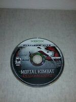 Mortal Kombat: Deadly Alliance (Xbox, 2003) - DISC ONLY - Tested and works
