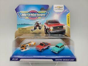 Micro Machines Chevrolet - Series 5 - Hasbro 2021 - Beach Day Blazer SHIPS FREE