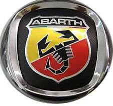 ABARTH Fregio Stemma Logo Emblema Posteriore Diamtero 85 mm