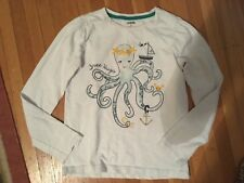 GYMBOREE* Girls CAPE COD CUTIE White Octopus Size:10 GUC