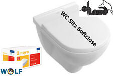 * WOW * Villeroy & Boch O.Novo Wand WC + Softclose SPÜLRANDLOS Ceramicplus