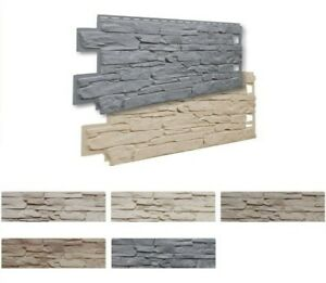 VOX Mock Lightweight Stone Cladding 1000mm x 420mm panel 5 different colours