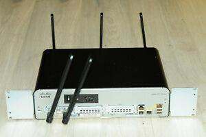CISCO1941W-N/K9 Router Latest IOS SPA.155-3.M3 w/ Antennas EHWIC-4G-LTE-AU