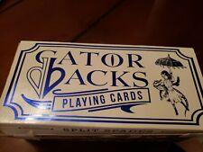 David Blaine Metallic Blue Gatorbacks Playing Cards Deck Limited USPCC