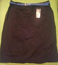 0d18fd9b6e BRIEFING Creation Galeries Lafayette Dusha black belted pencil skirt UK 16  EU 44