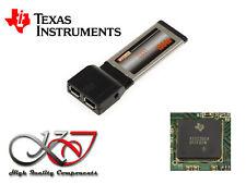 3ExpressCard 34 Firewire 400 - CHIPSET TEXAS INSTRUMENTS TI XIO2200A Adaptée MAO