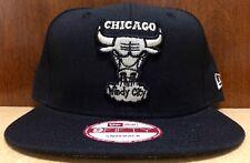 New Era Chicago Bulls 950 Color Black/Sliver - Size Adult Snapback Hat