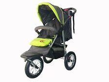 Brand New 3 wheel Green Jogger Baby Pram Buggy Baby Stroller Jogger