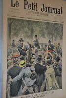 Le Petit Journal Supplémént illustré / 31 Juillet 1898 / Procès Zola