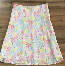 H&M Brand Skirt, Size 12, Floral Knee Length Skirt, Tea, Garden, Career, Date