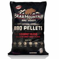 Bear Mountain BBQ FB99 All-Natural Hardwood Gourmet Blend Smoker Pellets, 40 lbs