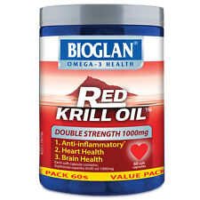Bioglan Red Krill Oil 1000mg 60 Capsules