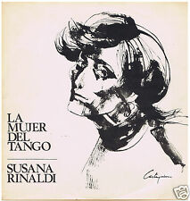 LP ARGENTINA  SUSANA RINALDI LA MUJER DEL TANGO