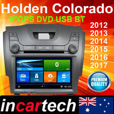 "8"" Holden Colorado 2012+ IN DASH GPS DVD Navi Bluetooth Stereo Radio Factory Fit"