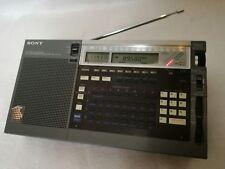 Weltempfänger Sony ICF-2001d mit AIR Band , vollfunktionsfähig