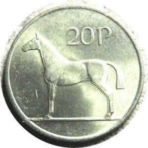 elf Ireland 20 Pence 1992 Horse
